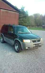 2002 Ford Escape SUV, Crossover