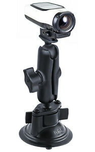 RAM-Suction-Cup-Mount-for-Garmin-VIRB-VIRB-Elite-Virb-Ultra