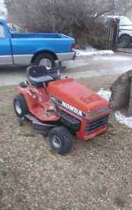 To all honda lovers honda lawn tractor for sale