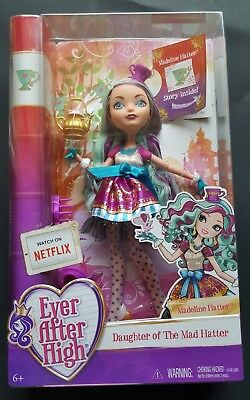 Mattel Ever After High Madeline Hatter Doll  Daughter of the Mad Hatter girl toy