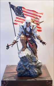 Assassin's Creed III Limited Connor Statue + jeux