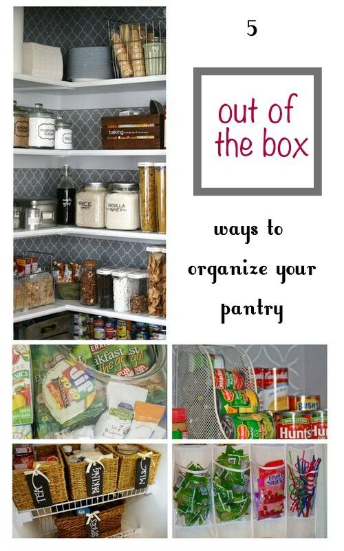 5 Out Of The Box Ways To Organize Your Pantry Ebay