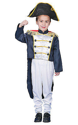 Dress Up America Historical Colonial General Toddler Child Costume Colonial General Child Costume
