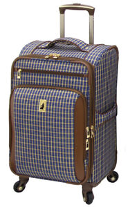 London Fog Luggage 21 Inch Expandable Suitcase - New in Box