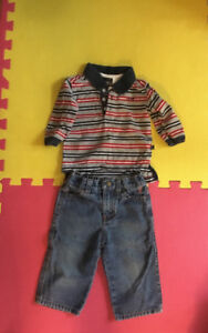 Boys Izod outfit