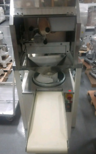Bakery Sheeter Roller DividerCustom Conveyor Depositor P