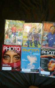 Various Magazines.. 2 for $1 or 5 for $2 ! (About 15)