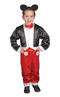 Deluxe Mr. Mouse Children'S Costume Set By Dress up America
