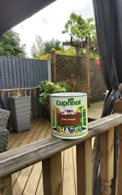 Courinol garden shades deep russet 1L