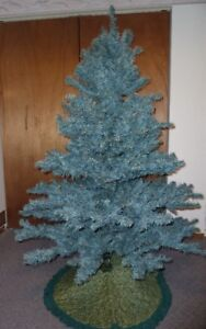 For Sale Simulated Blue Spruce Christmas Tree