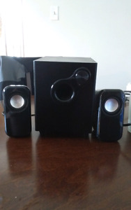 Blackweb multimedia speakers