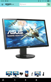Asus 1920x1080 144hz Gaming Monitor