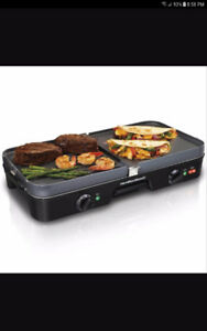 Hamilton beach 3 in 1 Grill/Griddle