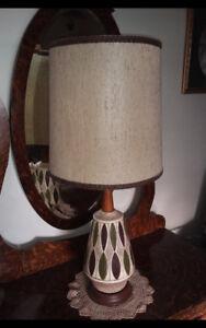 Retro Large Danish Modern Table Lamp