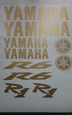 <em>YAMAHA</em> DECAL SET FAIRING R1 R6