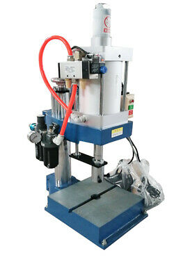 Heavy 110v Pneumatic Punch Press Machine 800kg Pressure Countless Display Newest