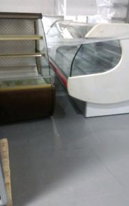 Used bakery equipment Pastry Case Iccream gelato display Freezer