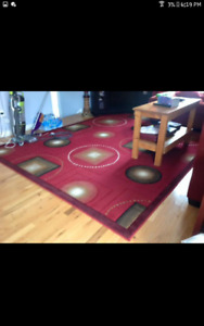 Good condition  big Red Rug