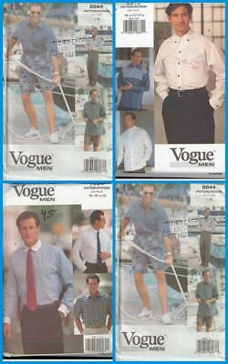 OOP Vogue Sewing Pattern Mens Clothes Fathers Day You Pick