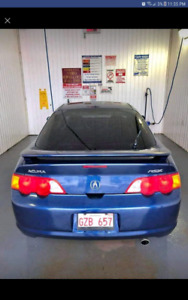 2004 acura rsx 5 speed brand lic and inspect.
