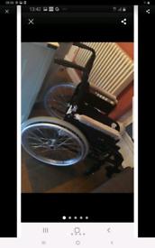 Brand new dashlite self propelled wheel chair retails £409