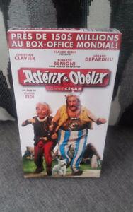 VHS Astérix et Obélix contre César NEAR MINT 1999 FRANCE