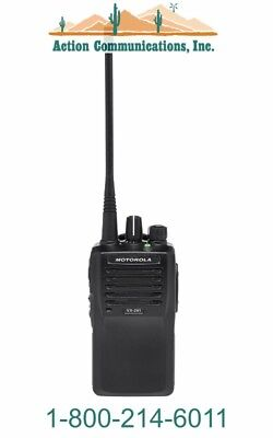 New Motorola Vx-261-d0-5 Vhf 134-174 Mhz 5 Watt 16 Channel Two Way Radio