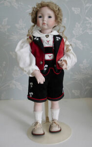 """Emily by Dianna Effner, Expressions 19"""" Porcelain doll artist"""