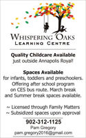 Whispering Oaks Learning Centre