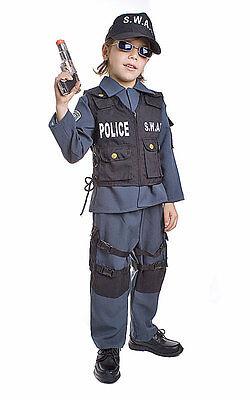 Police Costumes Kids (Deluxe SWAT Police Costume -)