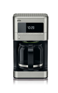 Braun KF7170SI BrewSense Drip Coffee Maker, Stainless Steel