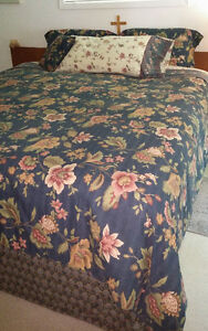 KIng Size Bed and Accessories