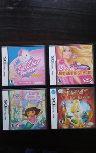 4 Girls Nintendo DS / 3DS games ($15 for all)