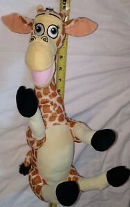 Plush Melman Giraffe Toy from Madagascar Movie
