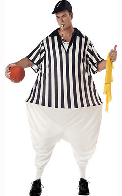 Unique Adult Costumes (NFL GRIDIRON REFEREE UMPIRE FUNNY UNIQUE ADULT MENS HUMEROUS)