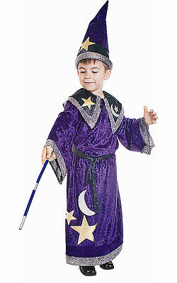 Dress Up America Magic Magician Wizard Toddler Child - Boys Wizard Costume
