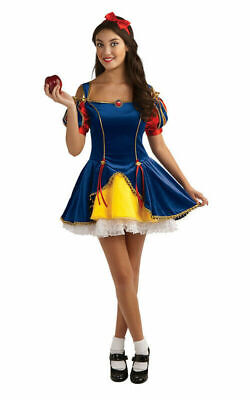 Snow White Fairytale Princess TEEN Girls Fancy Dress Halloween Costume  Sz 2-6 - Princess Halloween Costumes Teenage Girl