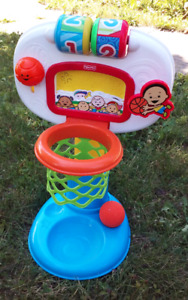 Fisher-Price basket with mysic