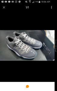 Air Jordan 11 Cool Grey Low