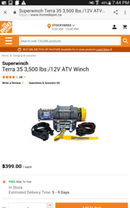 Superwinch Terra 35 ATV/Pikup Traks