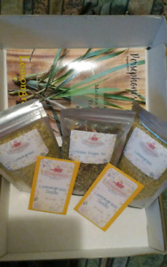 Lemongrass Herbal learning Box seeds/ Tea mix/ dried / recipes