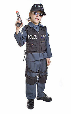 Dress Up America S.W.A.T. Police Officer Toddler Child Costume