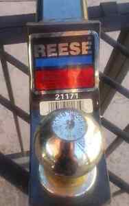 Reese trailer hitch and ball and hitch pin