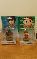 Villager and Marth Amiibo avail. for someone lucky PLEASE READ