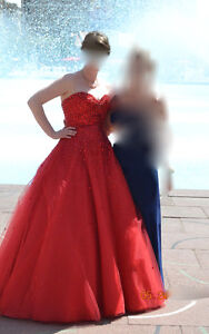 Gourges Luxury Princess Sweetheart Graduation Dress, S-M Edmonton Edmonton Area image 2