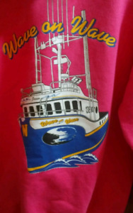 Large Wave on Wave (coldwater cowboys) Hoody now$20 or trade