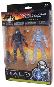 Halo 4 and Halo Reach action figures