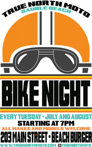 TUESDAY BIKE NIGHTS IN SAUBLE BEACH