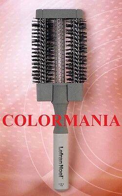 SPAZZOLA TERMICA CARBONIO PROFESSIONALE PIATTA FLAT DIAMETRO 60X15 LEFRAN NOEL