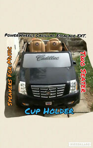 PowerWheels Ride on Cadillac Escalade EXT.